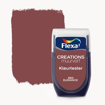 Flexa Creations muurverf Kleurtester Red Elegance mat 30ml