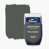 Flexa Creations kleurtester factory green