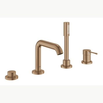 Grohe Colours Badrandcombinatie Essence New 4-delig Koper