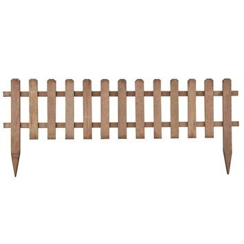 Pikethek hardhout ca. 110x45 cm