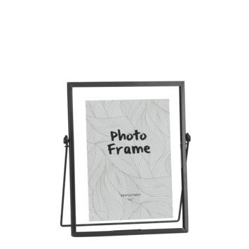 Fotolijst zwart - l19xb12xh21cm