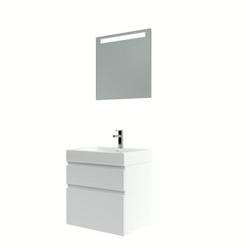 Bruynzeel Monta badmeubelset met spiegel 60 cm wit