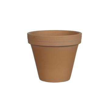 Pot rond terra antique - h13,5xd15,5cm