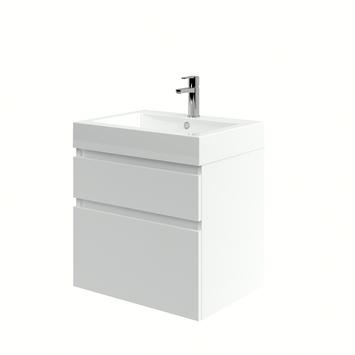 Bruynzeel Monta badkamermeubel 60 cm hoogglans wit