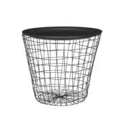 Planttafel grijs - h35xd39cm