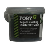 Foby+ :Levelling system starterskit 2mm