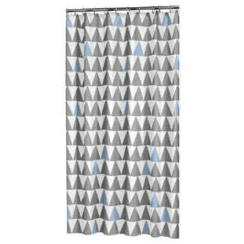 Sealskin Douchegordijn Nordic Lichtblauw 180x200 cm