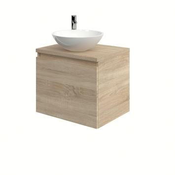 Bruynzeel Nerano badkamermeubel 60 cm bardolino waskom