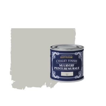 Rust-oleum chalky finish muurverf kiezel kleurtester 125 ml