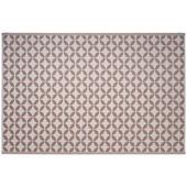 Buitenvloerkleed Alicante roze/wit 160x230 cm