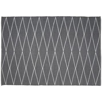 Buitenvloerkleed Vera grijs/ wit 160x230 cm