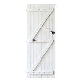 vtwonen deursticker staldeur wit (dessin 89350)