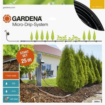 Gardena Startset M voor rijplanten met besproeiingscomputer