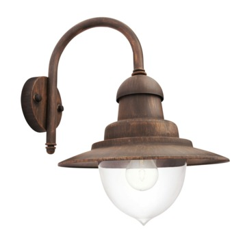 Philips buitenlamp Raindrop brons