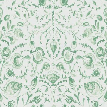 Vliesbehang feerle groen (dessin 101829)