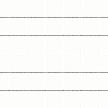 Vliesbehang ruit zwart-wit (dessin 33-256)