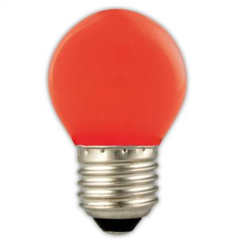 Calex LED kogel E27 1W rood