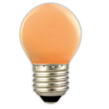 Calex LED kogel E27 1W oranje