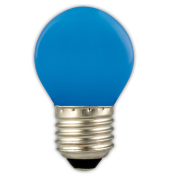 Calex LED kogel E27 1W blauw