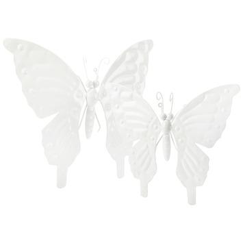 Wanddecoratie Buiten Metaal.Wanddecoratie Vlinder Klein Metaal Wit Kopen Karwei