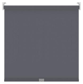 KARWEI rolgordijn koordloos verduisterend antraciet (5756) 60 x 190 cm