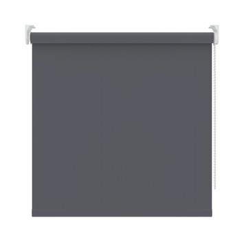KARWEI rolgordijn verduisterend antraciet (5756) 60 x 250 cm (bxh)