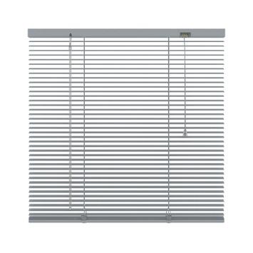 KARWEI horizontale aluminium jaloezie 16 mm zilver (221) 100 x 130 cm (bxh)