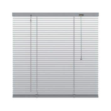 KARWEI horizontale aluminium jaloezie 16 mm zilver (221) 100 x 250 cm