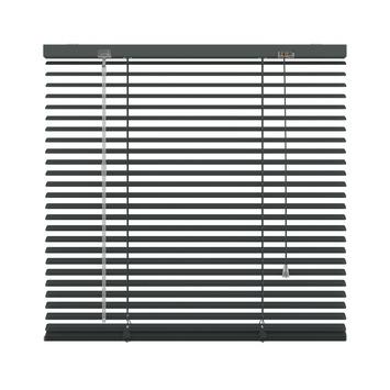 KARWEI horizontale aluminium jaloezie 25 mm antraciet (226) 220 x 250 cm
