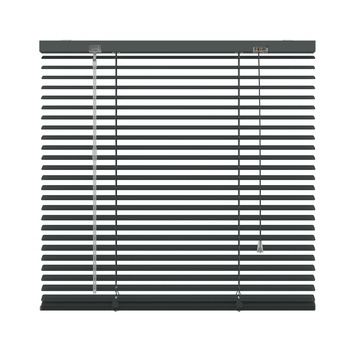 KARWEI horizontale aluminium jaloezie 25 mm antraciet (226) 100 x 250 cm