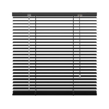 KARWEI horizontale aluminium jaloezie 25 mm mat zwart (320) 240 x 250 cm (bxh)