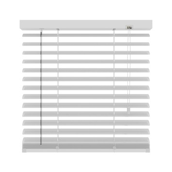 KARWEI horizontale aluminium jaloezie 50 mm mat wit (957) 80 x 180 cm (bxh)