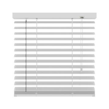 KARWEI horizontale aluminium jaloezie 50 mm mat wit (957) 160 x 180 cm (bxh)