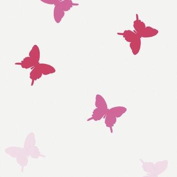 Vliesbehang roze (dessin 31-368)