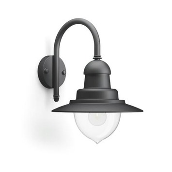 Philips buitenlamp Raindrop zwart