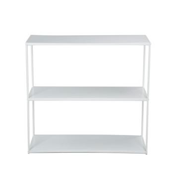 Dressoir/sidetable Giel metaal wit 82x130x35 cm