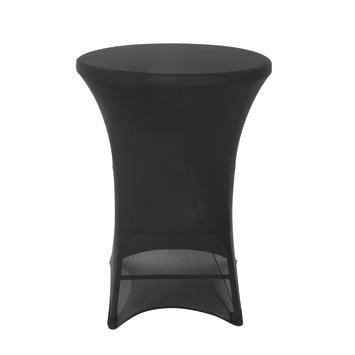 Hoes statafel 110 cm zwart