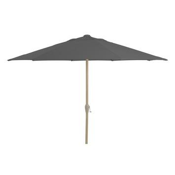 Parasol Lima Zwart Houtlook Ø300 cm