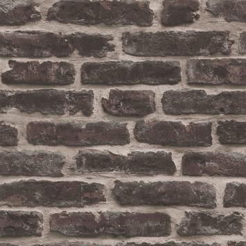 Vliesbehang bricks rood (dessin 4001)