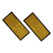 Carpoint reflector oranje 2 stuks 40x86mm