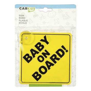 Carpoint 'Baby on Board' bord