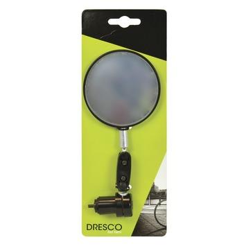 Dresco fietsspiegel rond 75mm