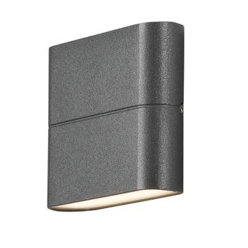 Konstsmide buitenlamp Chieri powerled 11 cm antraciet