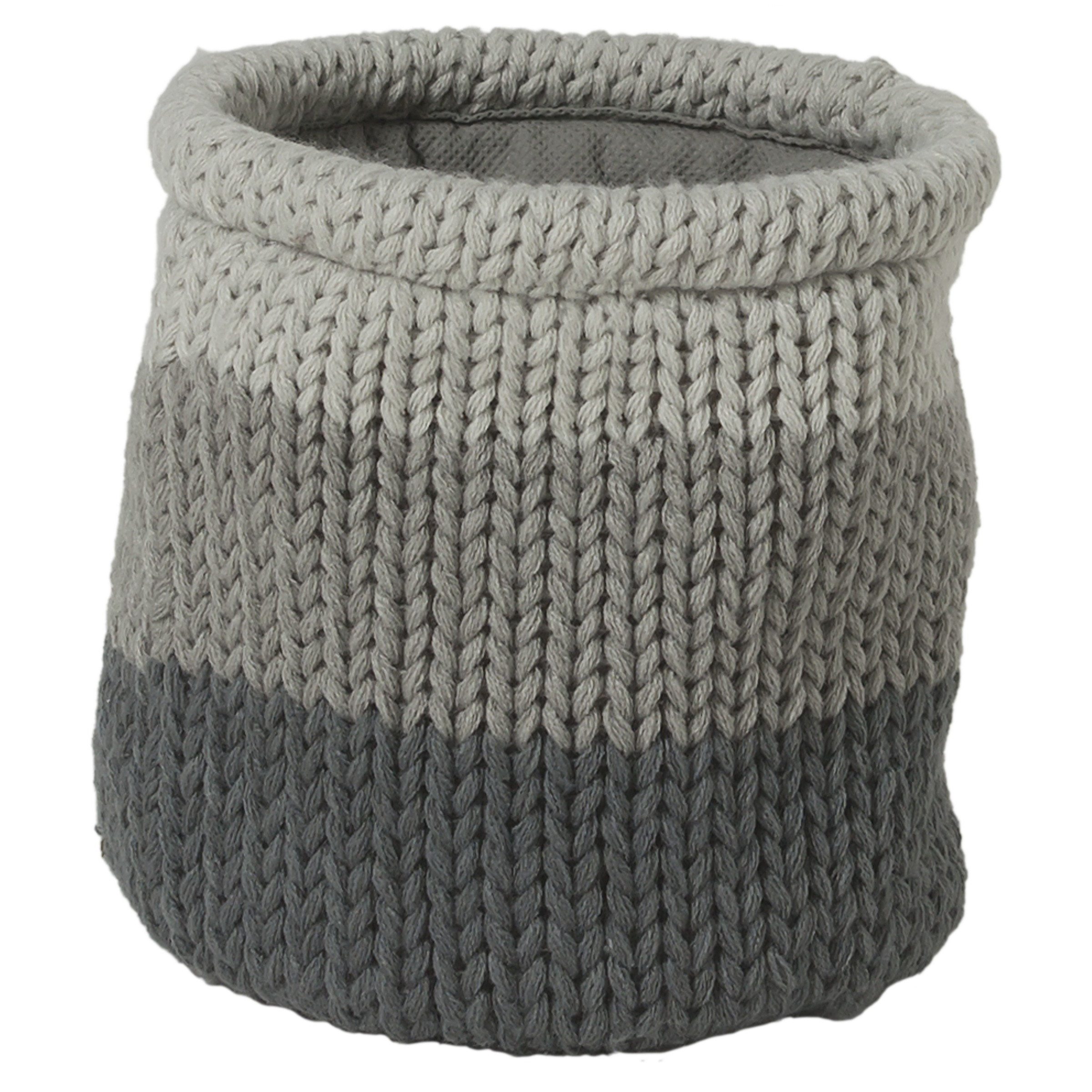 Sealskin Knitted opbergmand 15 x 15cm