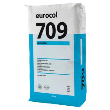 Eurocol 709 superflex poedertegellijm grijs 25kg