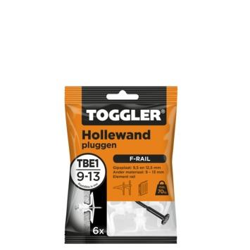 Toggler hollewandplug TBE6 9-13 mm 6 stuks