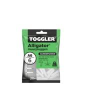 TOGGLER alligatorplug A6 (20 stuks)