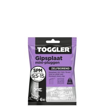 Toggler Mini gipsplaatplug (6 stuks)