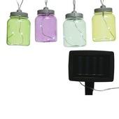Feestverlichting solar LED potjes