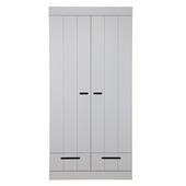 Kast Connect beton grijs 2 deurs  met laden
